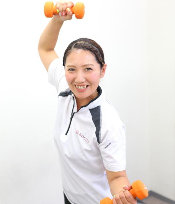 トレーナー井口祥子